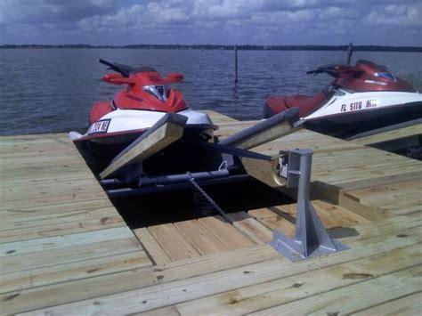 Jet Boat Floating Docks by Diy Pwc Dock Kit Floating Boat Dock With Swim