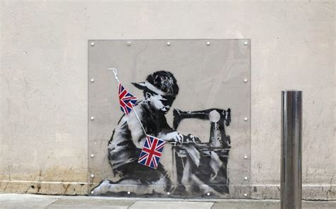 'stolen' Banksy Jubilee Mural Pulled From Florida Auction