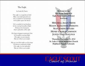 eagle scout court of honor program template - 59 best bs eagle coh invites programs images on