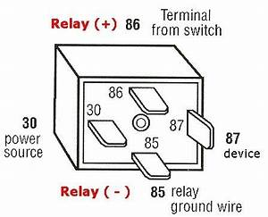 bosch 4 pin relay wiring diagram wiring diagram and With relaywiring