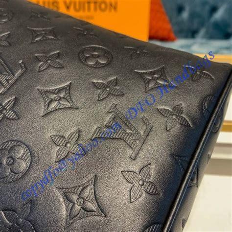 louis vuitton monogram shadow black chalk sling bag  luxtime dfo handbags