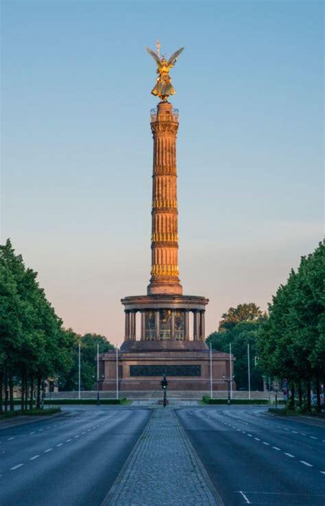 siegessaeule la colonne de la victoire vivre  berlin