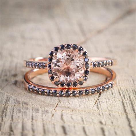 limited time sale 2 carat peach pink morganite round cut