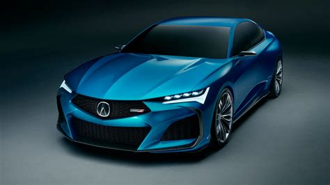 acura type  concept  starting