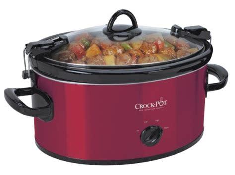 crock pot cook n carry 6 quart oval manual portable