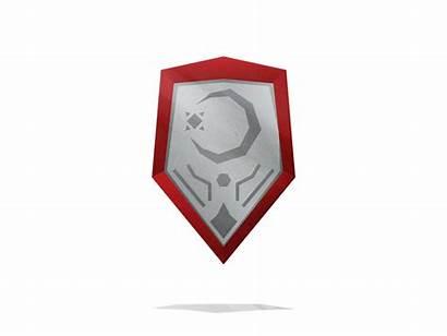 Shield Mirror Cheesy Icon Dribbble Shine Effect