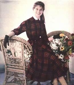1952 mode robe ecossaise 010 1 europe esthetique With robes ecossaises