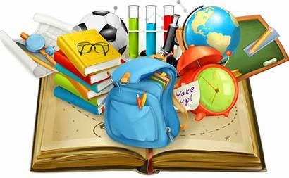 Vector Education Books Student Supplies Clipart Teacher