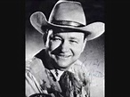 Tex Ritter--The Deck Of Cards - YouTube