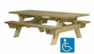 Table Bois Pique Nique : ht ~ Melissatoandfro.com Idées de Décoration
