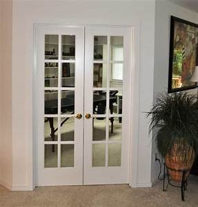 Home Office With White French Door Beautiful Interior