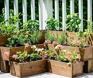 den garten individuell gestalten krautergarten anlegen With kräutergarten balkon ideen
