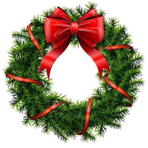 Image result for xmas pictures clip art christmas wreath