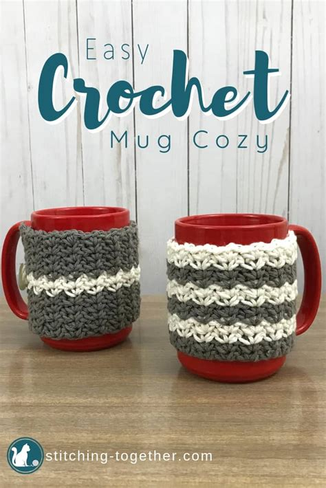 This mug cozy will prevent that! Country Crochet Coffee Cup Cozy   Stitching Together