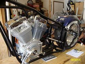 Twin Cam In Evo Softail Frame    Offset Issues