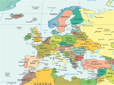 La Carte Du Monde Europe by Cartes D Europe Archives Carte Monde Org