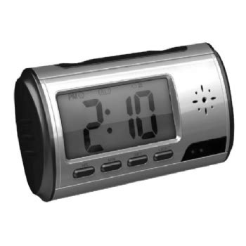 kamera in snemalnik v obliki digitalne namizne ure enaa
