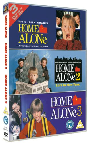 Home Alone Trilogy Dvd (2005) Macaulay Culkin 5039036022279 Ebay