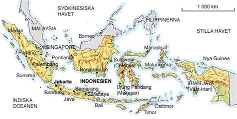 Karta INDONESIEN - reseledaren.nu