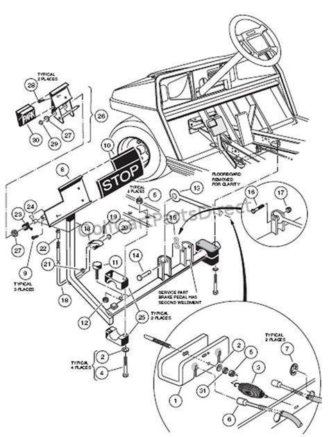 2000 Club Car Wiring Diagram by 2000 48 Volt Club Car Wiring Diagram Wiring Diagram