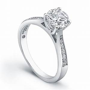wedding rings platinum diamond engagement rings With discount wedding rings women