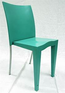 Chaise Vert D Eau : chaise miss global empilable coque en polypropylene de couleur vert deau structure en acier verni b ~ Teatrodelosmanantiales.com Idées de Décoration