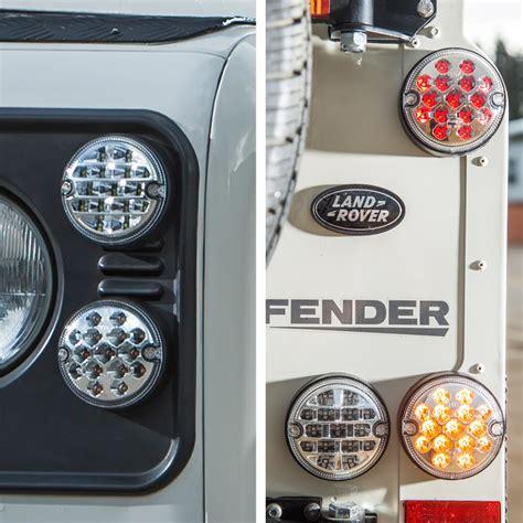 nas style led lights upgrade kit for land rover defender 95mm 11pcs led vehicle lights
