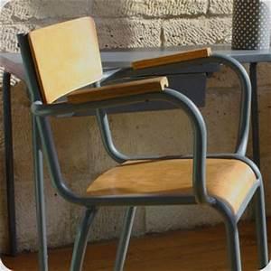 Chaise D école : meubles vintage chaises fauteuils chaise fauteuil de ma tre d 39 cole fabuleuse factory ~ Teatrodelosmanantiales.com Idées de Décoration