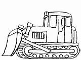 Digger Coloring Pages Snow Mover Colouring Bulldozer Dozer Excavator Printable Truck Template Cartoon Construction Tractor Getcoloringpages Getcolorings Colorings sketch template