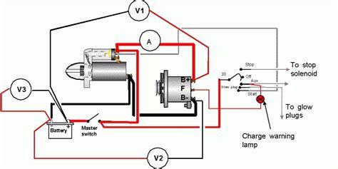 Automotive Alternator Diagram by Diesel Engine Alternator Wiring Diagram Automotive Parts