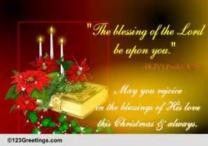 rejoice in his blessings on free religious blessings ecards 123 greetings