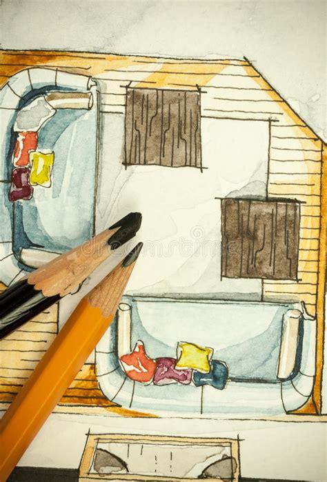 pittura sala da pranzo pittura a mano libera di schizzo dell inchiostro nero e