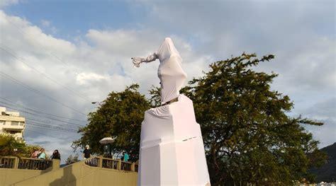 Mirador sebastian belalcazar, cali resim: Estatua de Sebastián de Belalcázar en Cali fue cubierta ...
