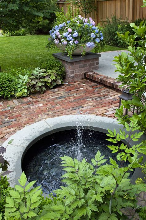 Home Garden by Beautiful Home Gardens With Fountains To Be Inspired By