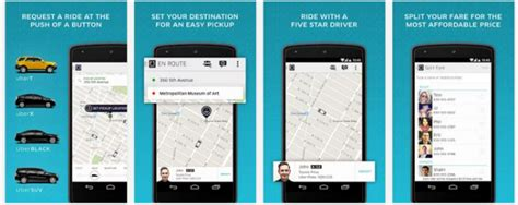 uber app android 10 must apps for travelers