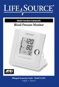 Download Manual Blood Pressure Monitor Instructions