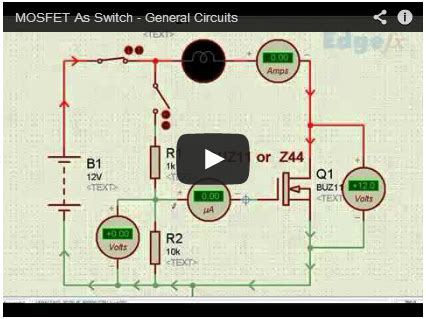 What The Mosfet Basics Working Principle Applications