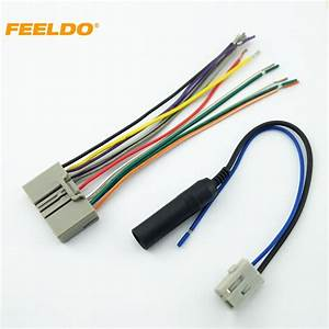 Feeldo 5set Car Audio Cd Player Radio Stereo Wiring