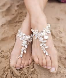 barefoot weddings wedding shoes with shells wedding shoes