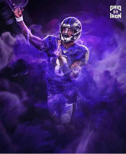Lamar Jackson Ravens Wallpapers Baltimore Football Nfl
