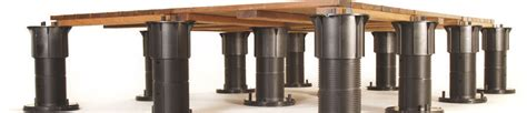 bison pedestal system bison deck supports deck supports for rooftop environments