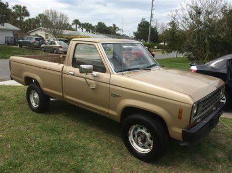 ford ranger turbo diesel for sale find used 1987 ford ranger 2 3l turbo diesel in jacksonville florida united states