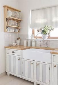 Shabby Chic Küche : shabby chic k che gem tlich und nostalgisch mit einem romantischen flair ~ Markanthonyermac.com Haus und Dekorationen