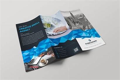Fold Tri Brochure Template Professional Tallinn Templates