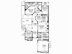 House plans and design house plan single story with courtyard for 1 story house plans with courtyard