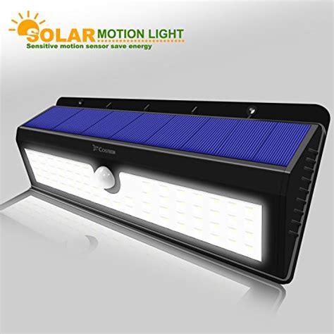 solar powered 62 led dusk to waterproof motion sensor