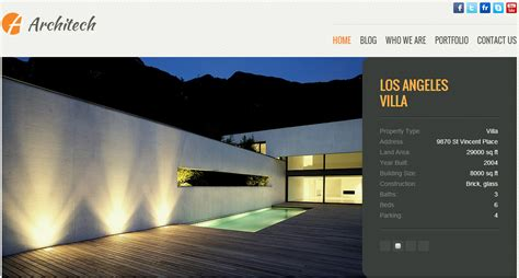 Architecture Blog Wordpress Theme, Wordpress Foundation