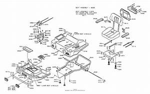 Dixon Ztr 5502  1996  Parts Diagram For Body Assembly