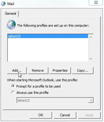 Office 365 Outlook Loading Profile by Office 365 Outlook Anywhere Setup Simplicity