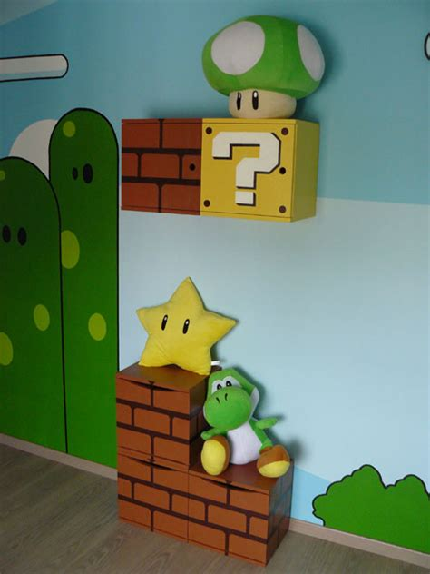chambre mario bros baby themed rooms ideas